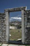 Stone ruins of the Roman city. Of Salona in Croatia Royalty Free Stock Image