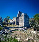 Stone ruins in Turks and Caicos. Stone ruins on the islands of Turks and Caicos Stock Photo