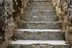 Stone Rural Stairs Royalty Free Stock Photo