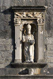 Stone saint patron Royalty Free Stock Photo