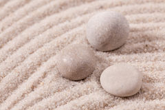 Stone and sand Stock Images