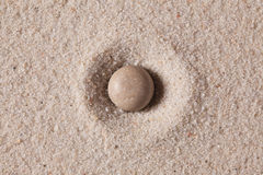 Stone and sand Royalty Free Stock Images