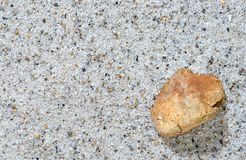 Stone and sand Royalty Free Stock Photography