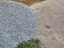 Stone and sand Stock Photography