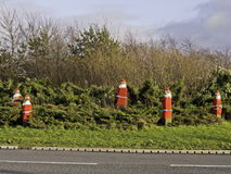 Stone santas, Fulwood Stock Photography