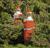 Stone santas, Fulwood Stock Images