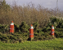 Stone santas, Fulwood Stock Photos