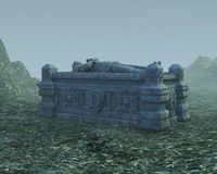 Stone Sarcophagus Stock Images