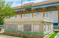 The stone sarcophagus of Sheikh Naqshband Stock Photography