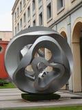 Stone sclupture modern art design  mexico city palace Stock Photography