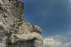Stone sculpture Stock Image