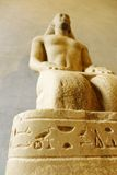 Stone sculpture of ancient script from Egypt Stock Photography