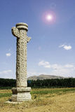 Stone sculpture in China. Hebei, Qing dynasty Stock Photo