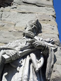 Stone sculpture in Constance at Lake Constance Stock Photos