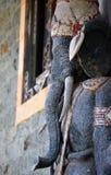 Stone sculpture of Ganesha or Ganesh, hinduistic god, Bali stock photography