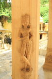 Stone sculpture. stock image