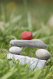Stone sculpture - winner. Stone sculpture - Symbolic for Winner, Leader Royalty Free Stock Photos