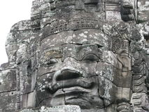 Stone Sculptures. At Castle Rock in Cambodia Stock Images