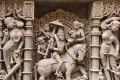 Stone sculptures of medieval India Stock Photography