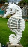 Stone Sea Horse Stock Photography
