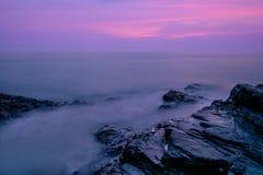 Stone in the sea Stock Photos