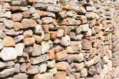 Stone sea wall Royalty Free Stock Photos
