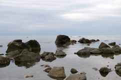 Free Stone Seaborne, Low Tide. Royalty Free Stock Photography - 7258697
