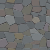Stone seamless pattern. Vector illustration Stock Photo
