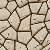 Stone seamless pattern Royalty Free Stock Images