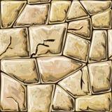 Stone seamless pattern Stock Image