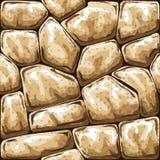 Stone seamless pattern Stock Photos