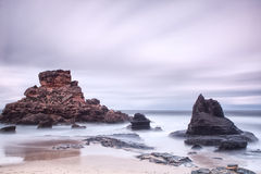 Stone seascape. Stock Image