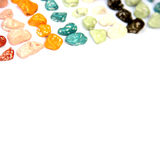 Stone shape candy Stock Photos