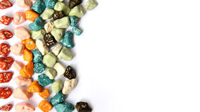 Stone shape candy Stock Image