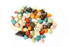 Stone shape candy Stock Images