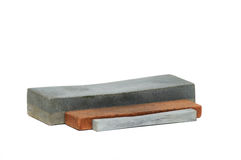 Stone for sharpening a knife Stock Photography