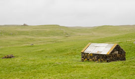 Stone shed Royalty Free Stock Photography