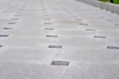 Stone sheet pavement Stock Photo
