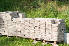 Stone sheets Stock Images