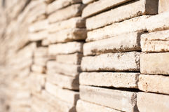 Stone sheets piles Stock Images