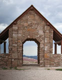 Stone shelter Stock Images