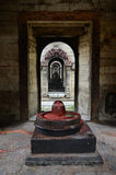 Stone Shiva lingam Stock Photos