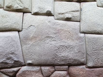 The stone of 12 sides of Cusco Peru Stock Photos