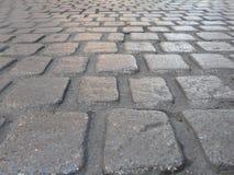 Stone sidewalk Stock Photos