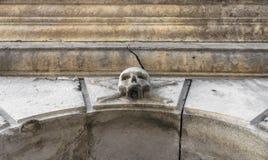 Stone skull Stock Photography