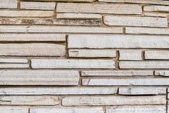 Stone slab background wall Stock Image