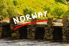 Bridge Terland Klopp in Norway Royalty Free Stock Image