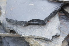 Stone slab layers Royalty Free Stock Photos