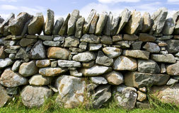 Stone slab wall Royalty Free Stock Photos
