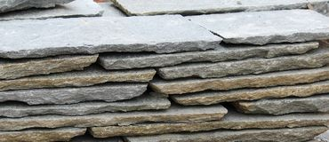 Stone slabs Stock Photos